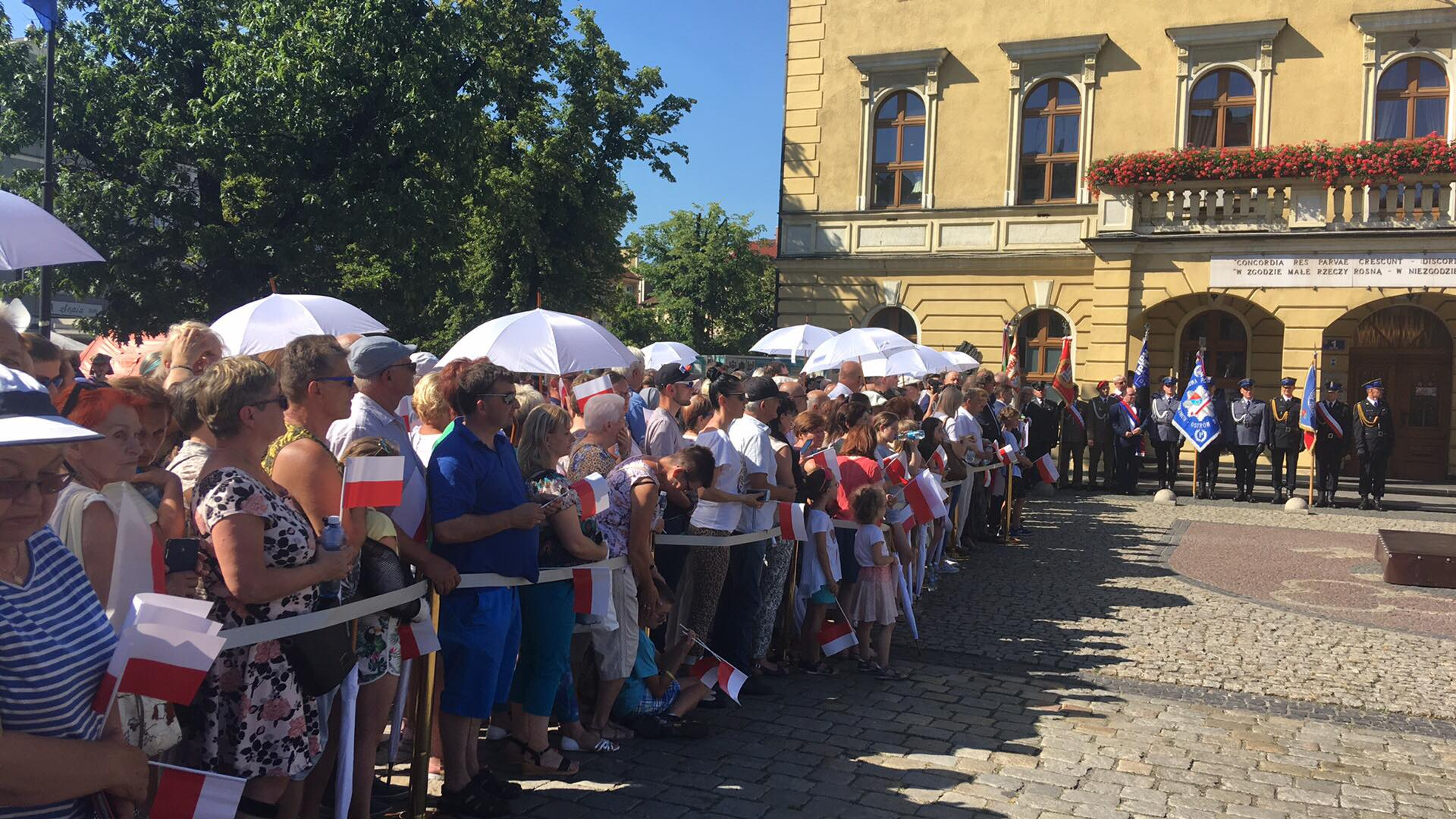 Ostrowianie czekają na prezydenta RP A Dudę  - Danuta Synkiewicz