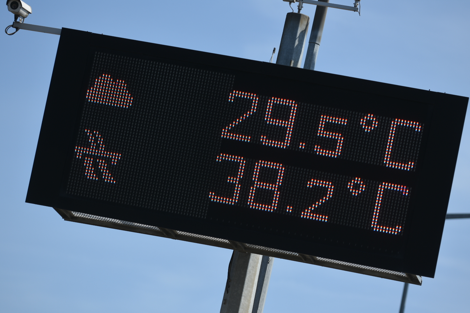 upały temperatura droga asfalt - Wojtek Wardejn