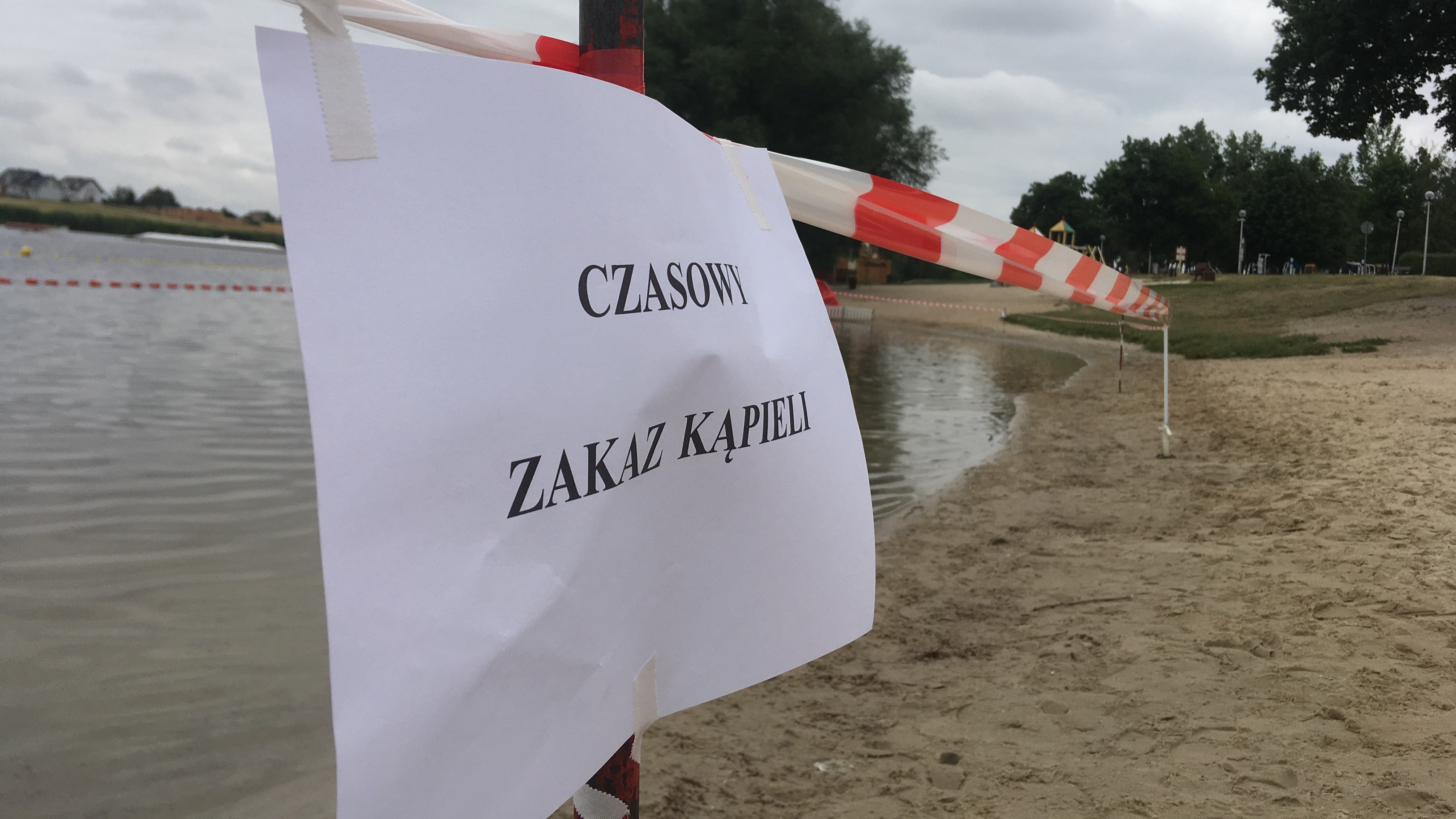 kąpielisko śrem zakaz kąpieli - Rafał Regulski