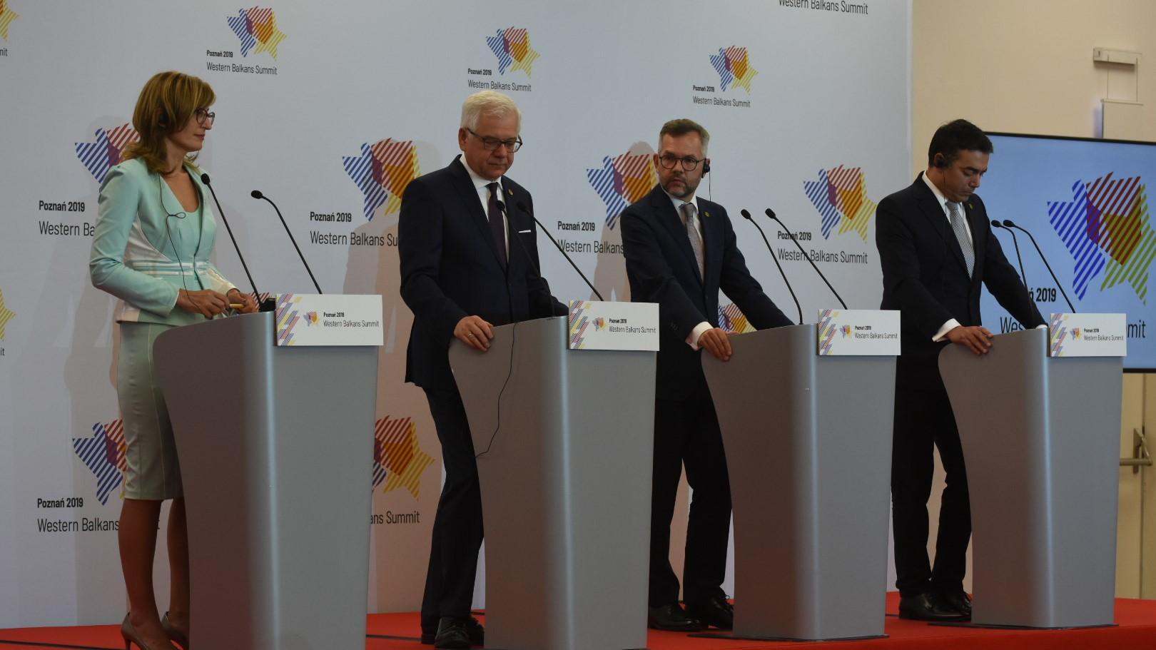 szczyt bałkański dzień drugi konferencja gospodarcza - Wojtek Wardejn