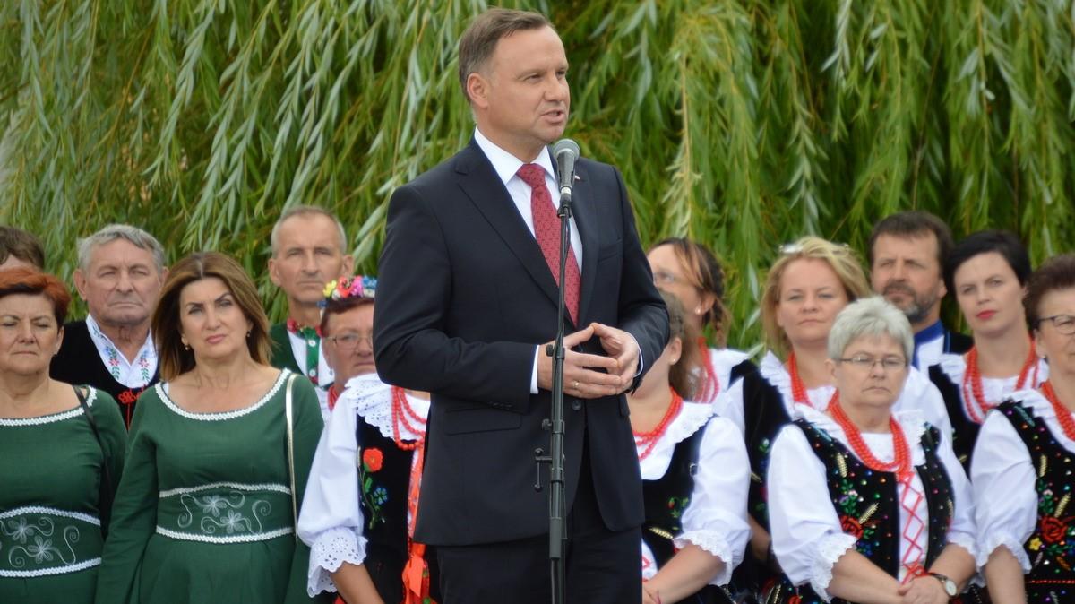 Andrzej Duda w Margoninie - Przemysław Stochaj