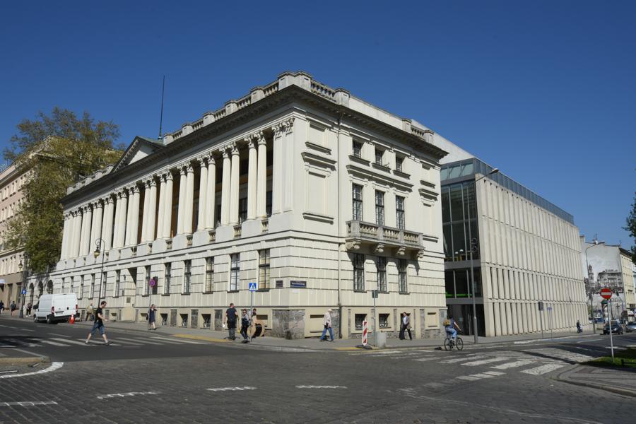 Biblioteka raczyńskich poznań - Wojtek Wardejn
