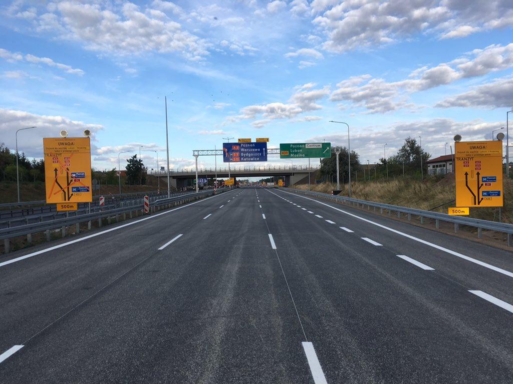 autostrada a2 zmiany - Autostrady Polska - Twitter