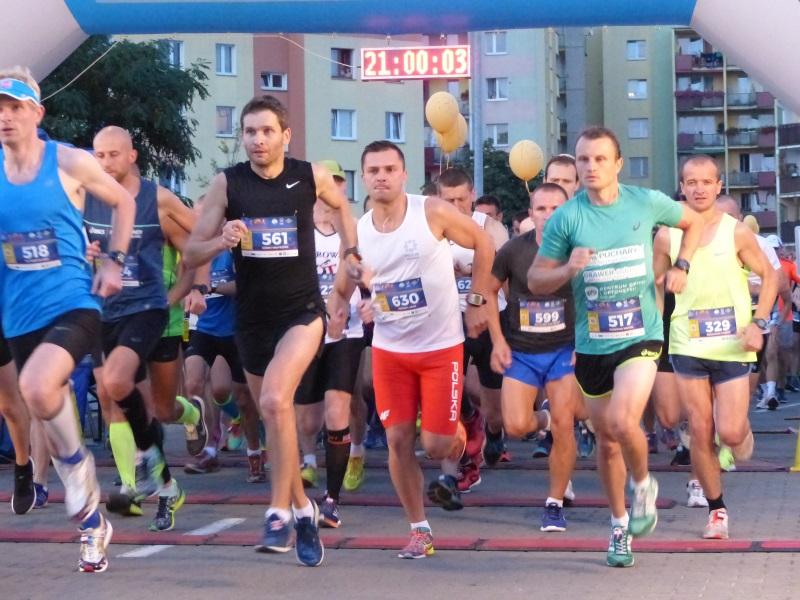 nocny półmaraton kalisz - KMP Kalisz