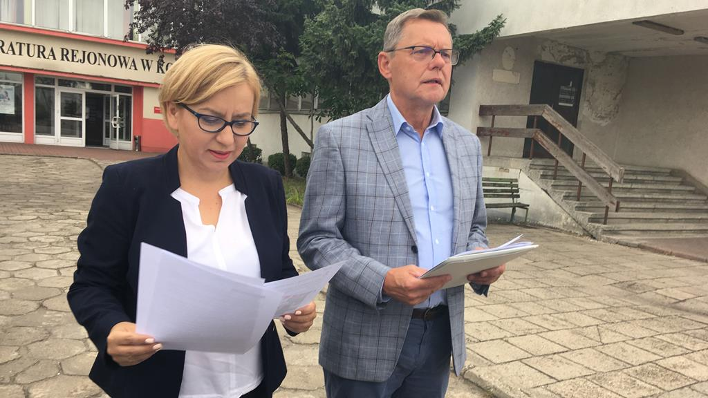 Paulina Henning-Kloska i Piotr Nowak donoszą do prokuratury - Sławomir Zasadzki