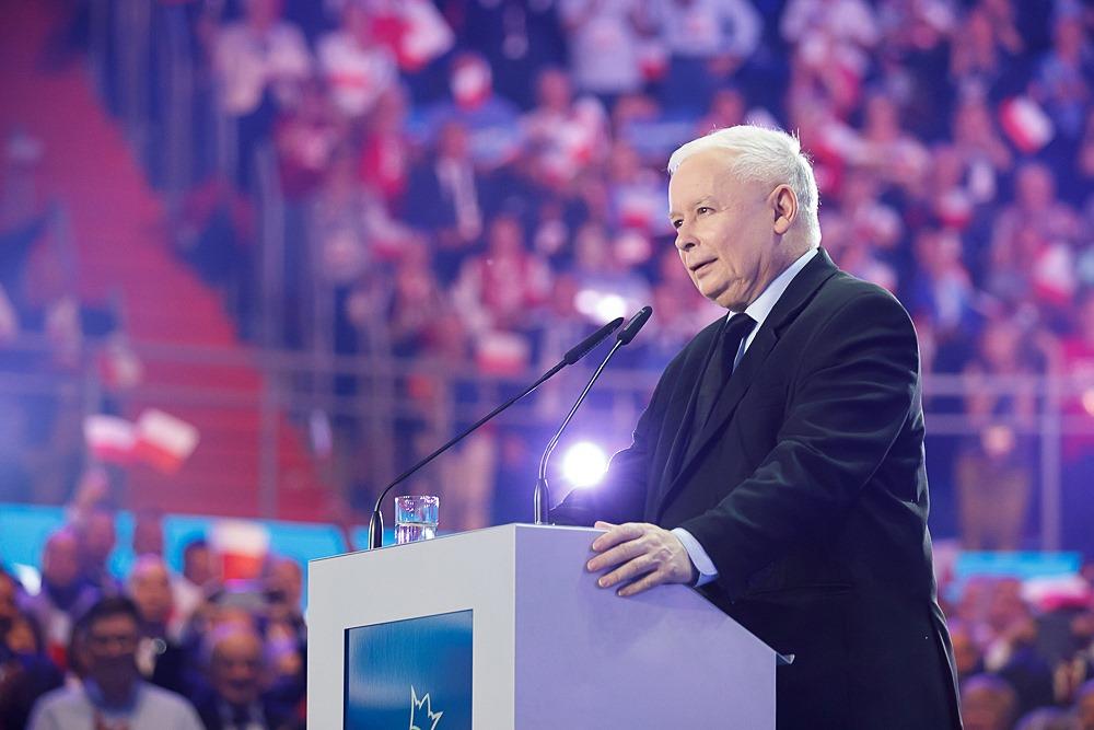 jarosław kaczyński konwencja pis lublin - Prawo i Sprawiedliwość (Facebook)