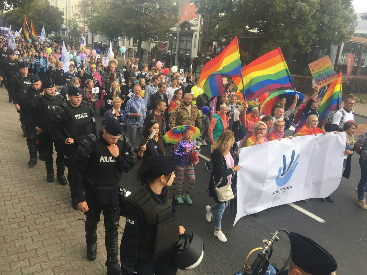 marsz tolerancji konin - Sławomir Zasadzki