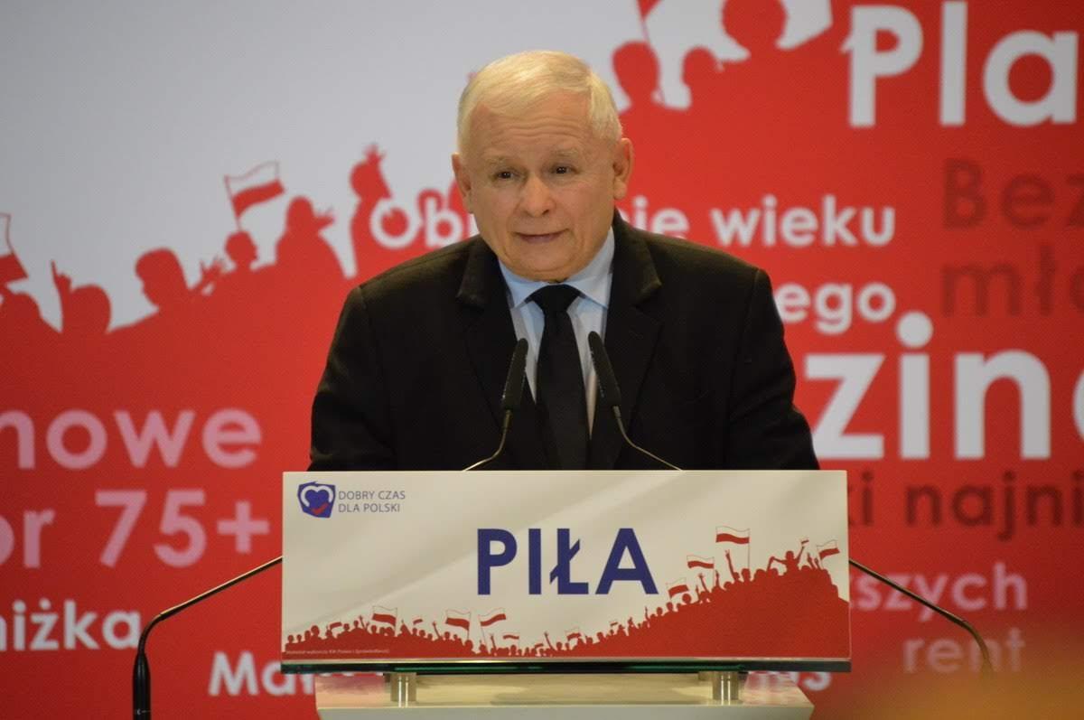 kaczyński w pile - Przemysław Stochaj