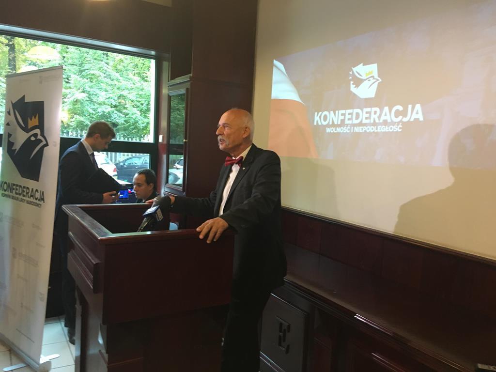 konwencja konfederacji janusz korwin mikke - Jacek Butlewski