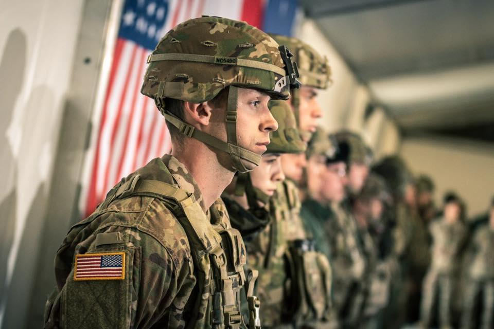 amerykański żołnierz US Army - MON