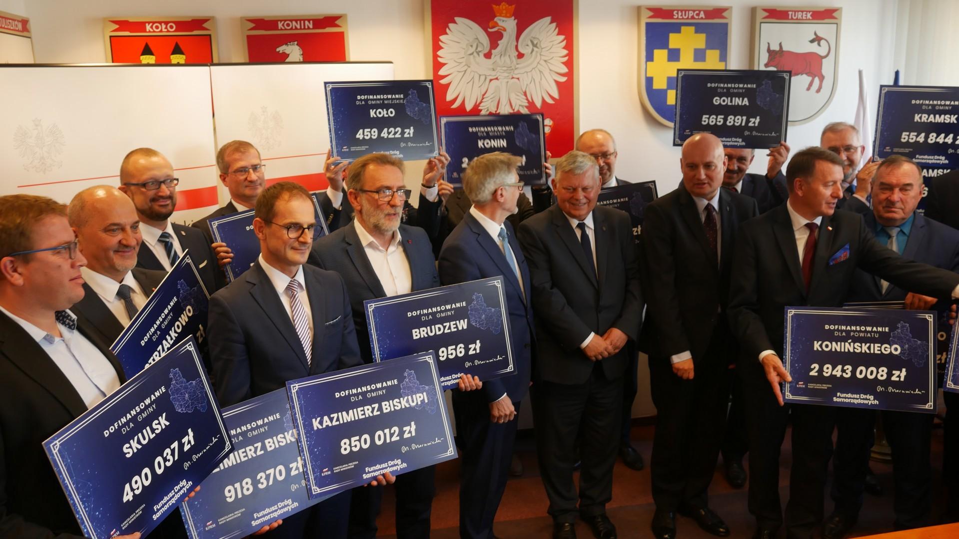 Fundusz Dróg Samorządowych konin - Sławomir Zasadzki