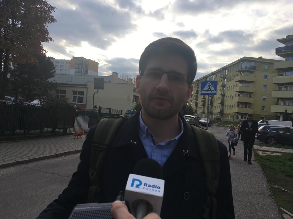 Marek Sajdok z Młodzieży Wszechpolskiej - Jacek Butlewski