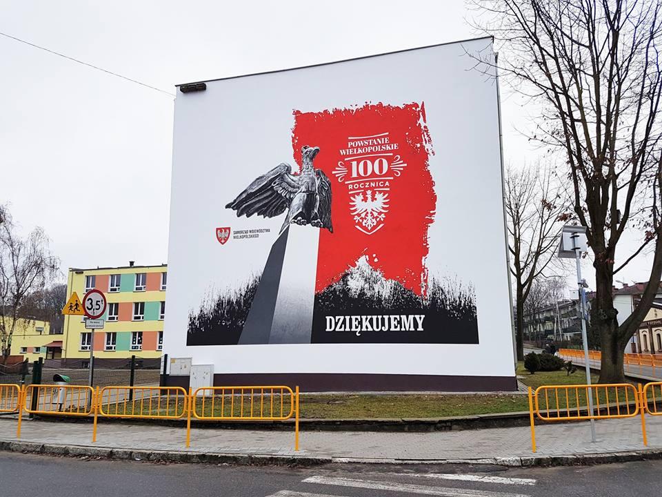szkoła podstawowa nr 2 międzychód sp2 mural polski niepodległej - SP2 Międzychód
