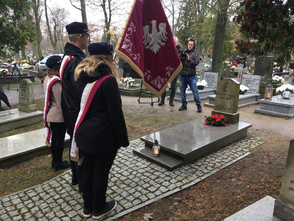 hołd Paweł Cyms  - Rafał Muniak