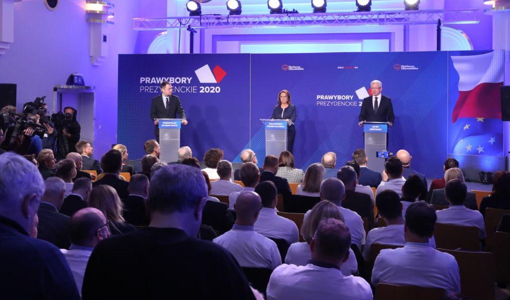 debata przedwyborcza jaśkowiak kidawa-błonska - www.facebook.com/PrezydentJaskowiak/