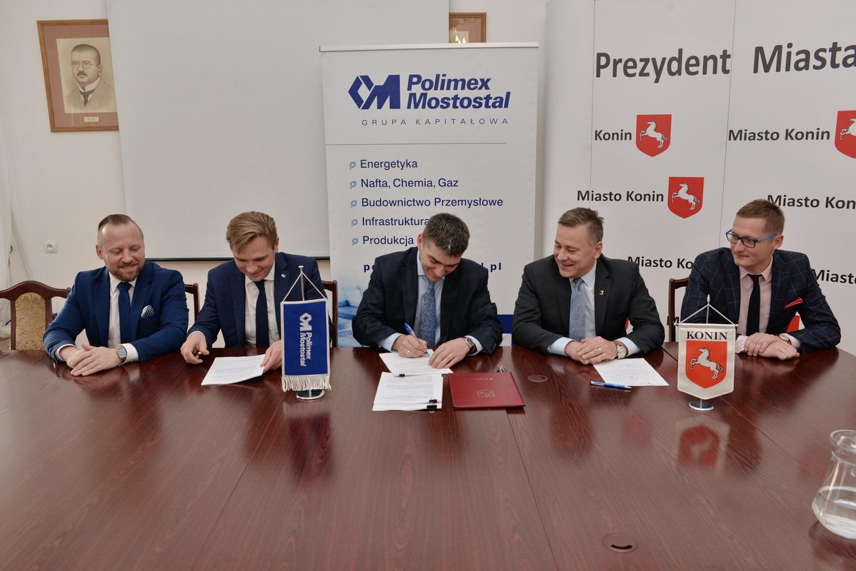 Konin podpisanie umowy - www.konin.pl