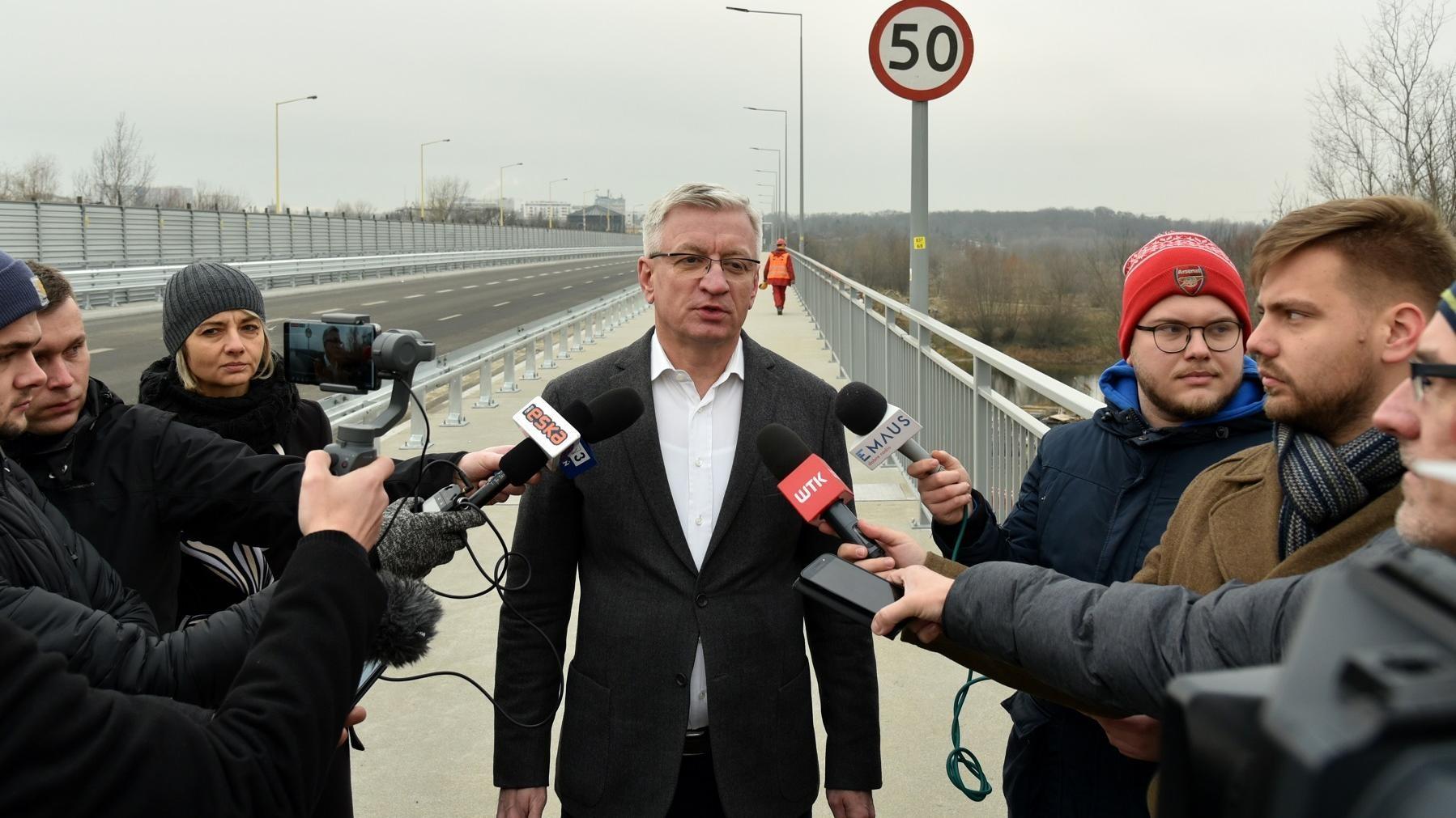 Jaśkowiak na moscie - Urząd Miasta Poznania