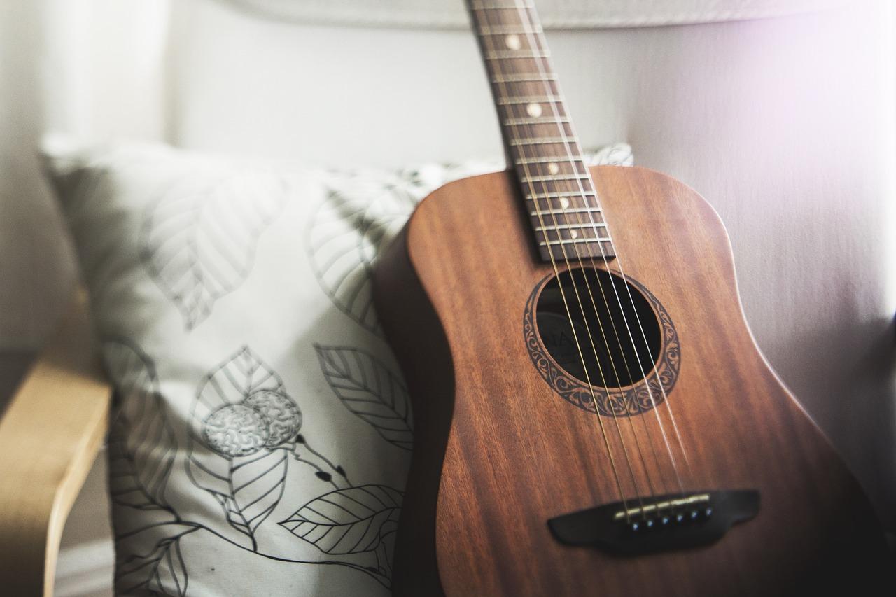 gitara muzyka stock - Pixabay