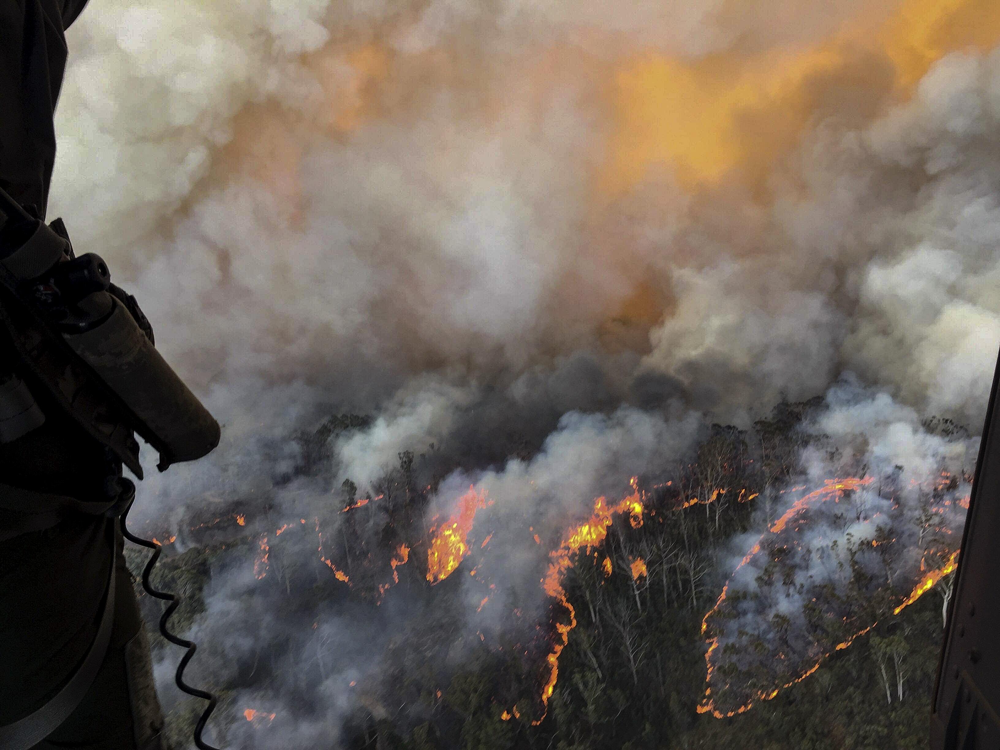 pożar australia - TT: Defence Australia
