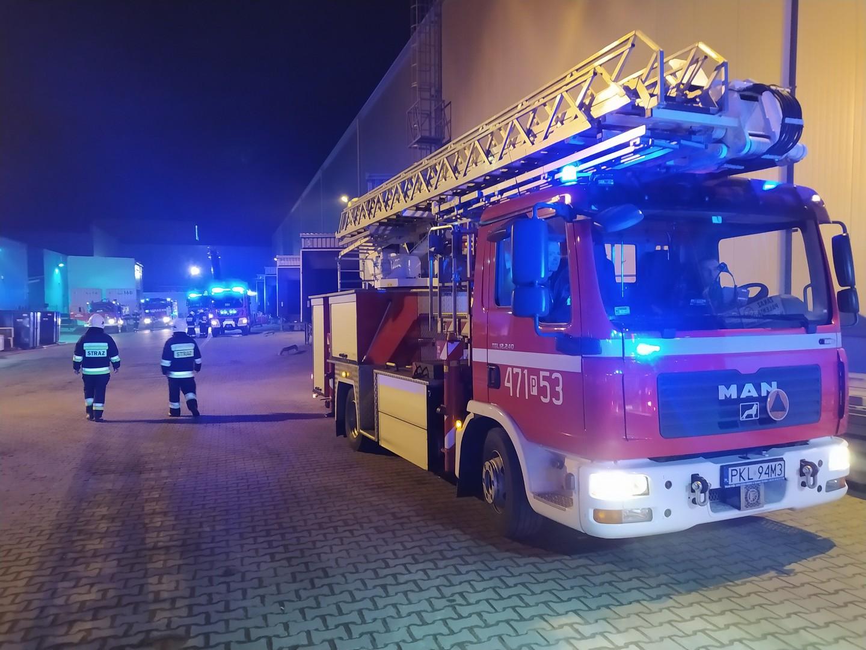 turek malanów pożar noc straż noc  - Sławomir Zasadzki - Radio Poznań