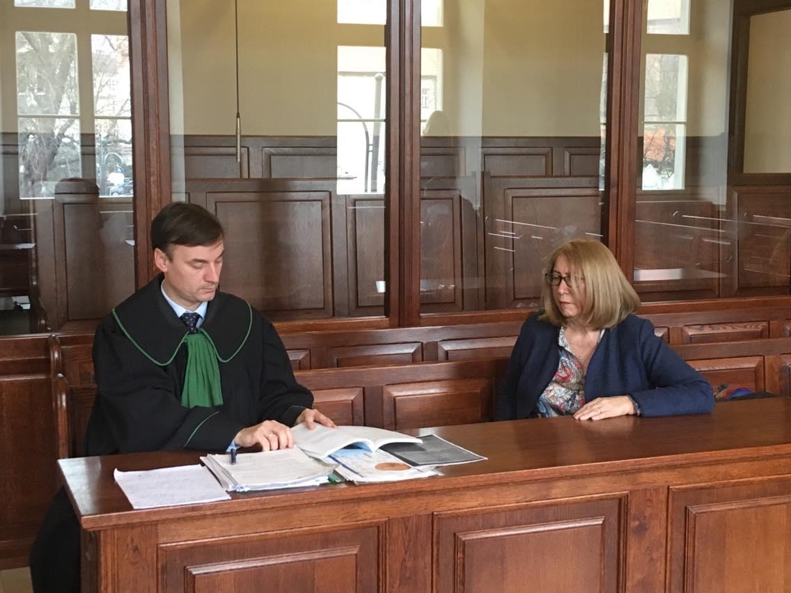 proces po wdowie macieja krzyżanowskiego - Danuta Synkiewicz