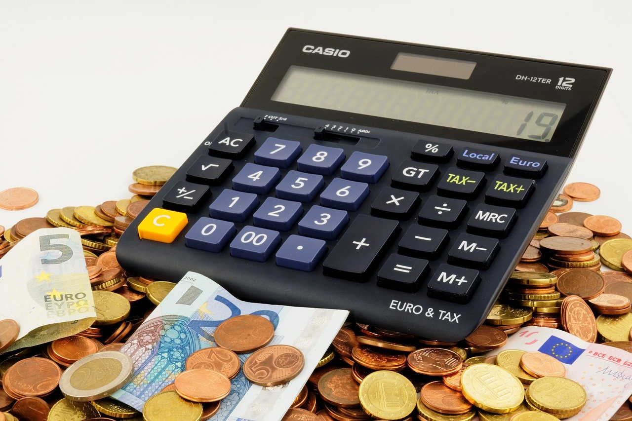 kalkulator pieniądze - Pixabay