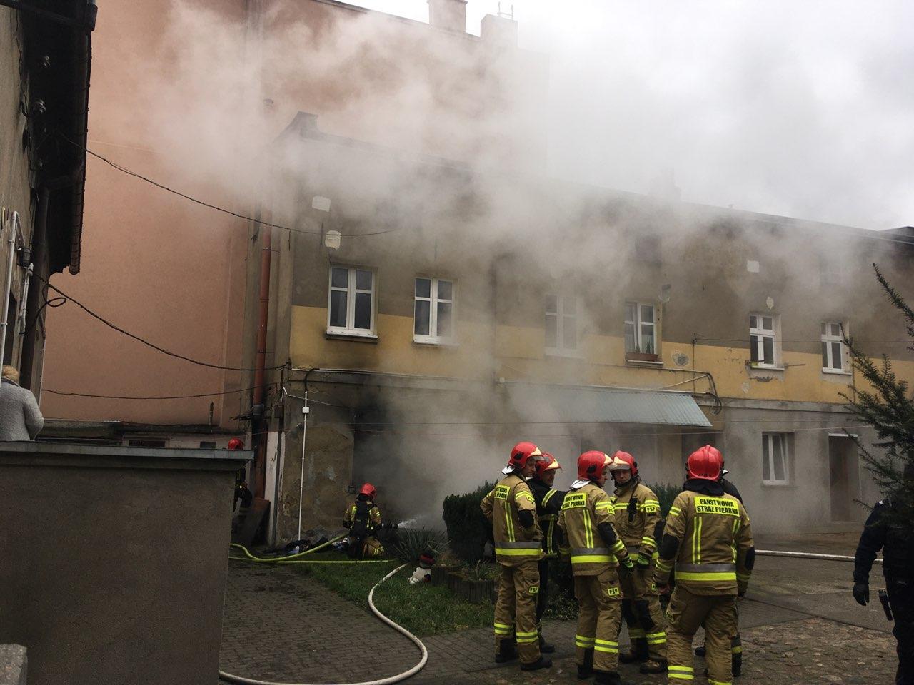 pożar Gniezno - Rafał Muniak