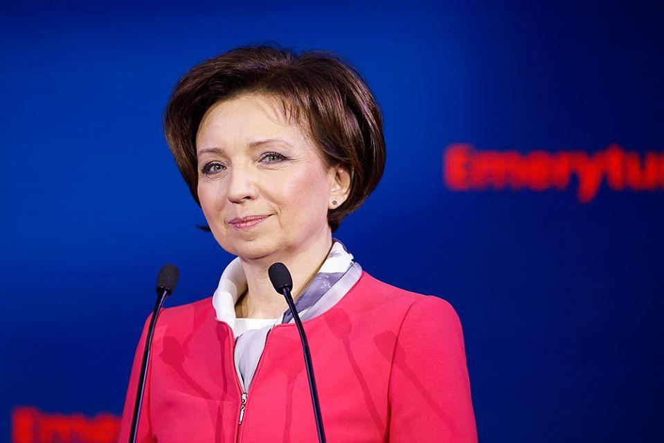 Marlena Maląg - FB: Marlena Maląg