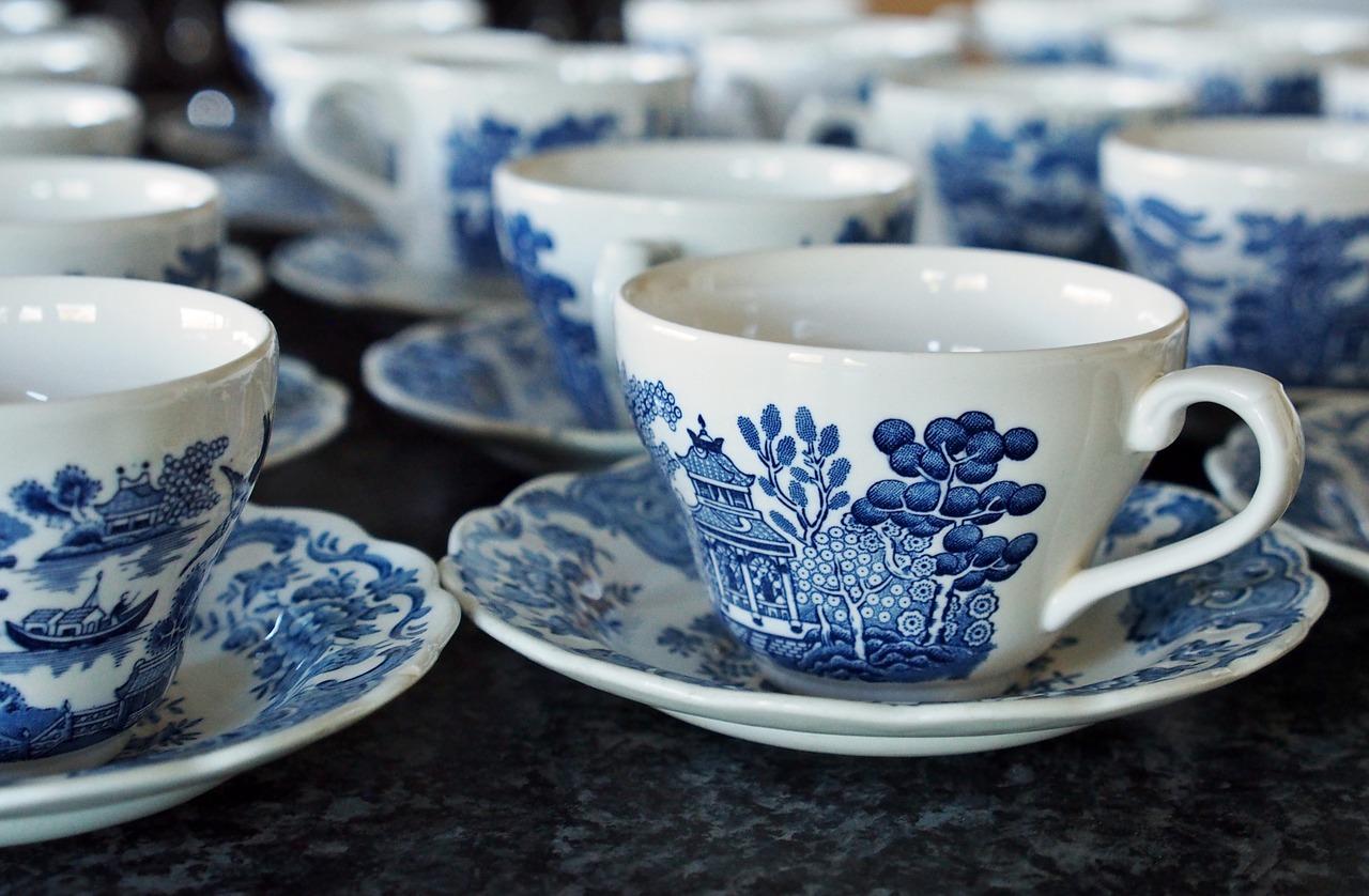 porcelana filiżanka herbata - Pixabay