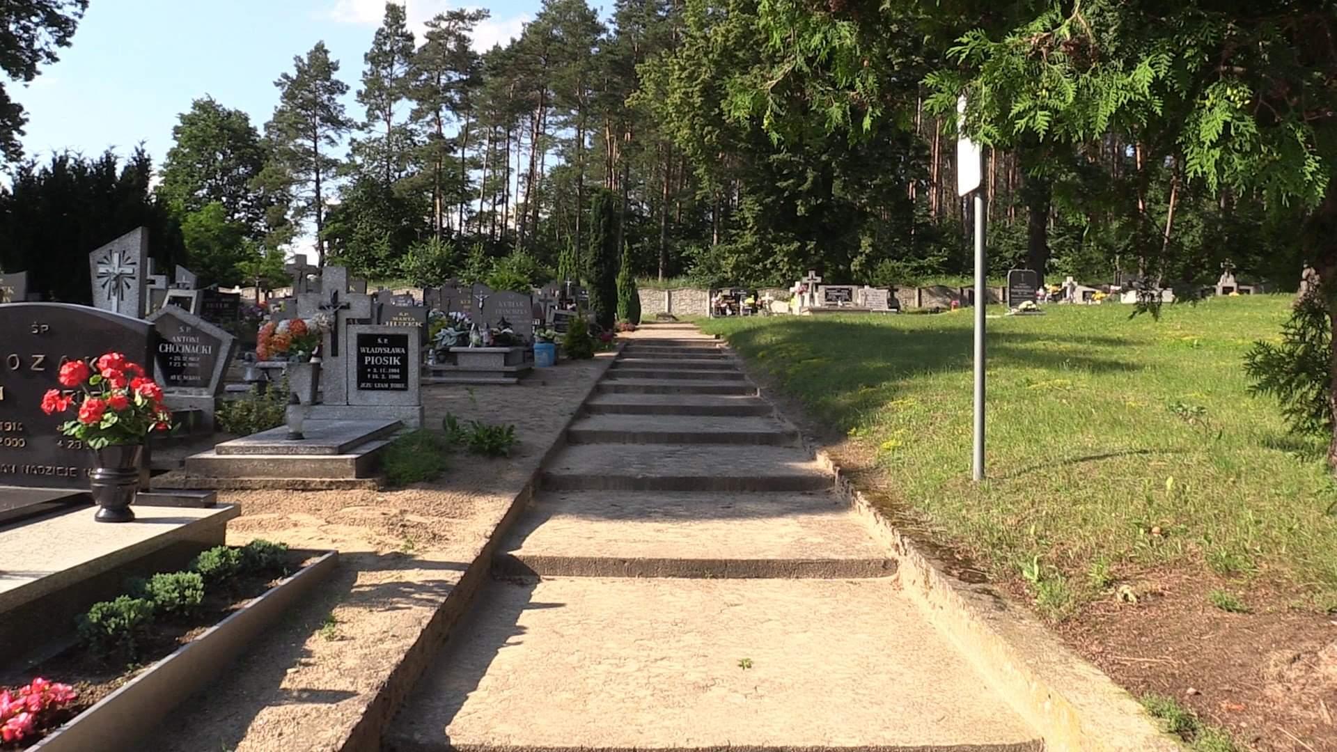 cmentarz kradzież Kaczory - Przemysław Stochaj