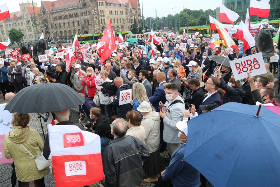 Manifestacja - Leon Bielewicz