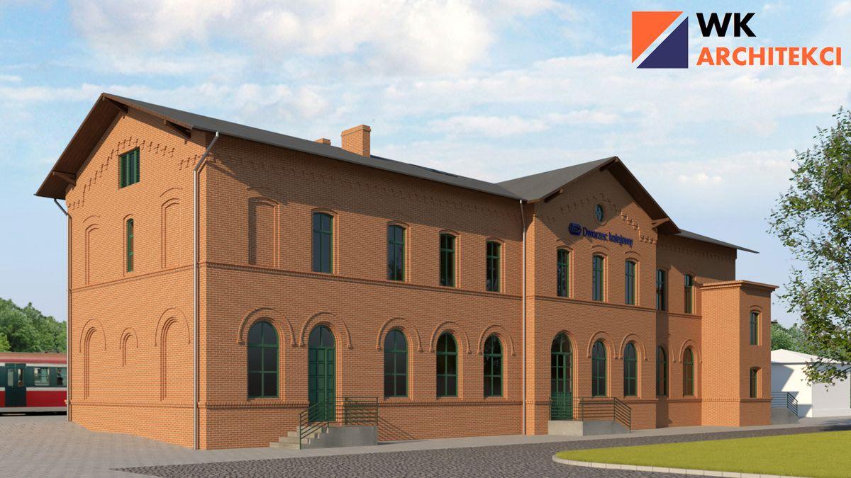 dworzec pobiedziska modernizacja  - www.pkp.pl