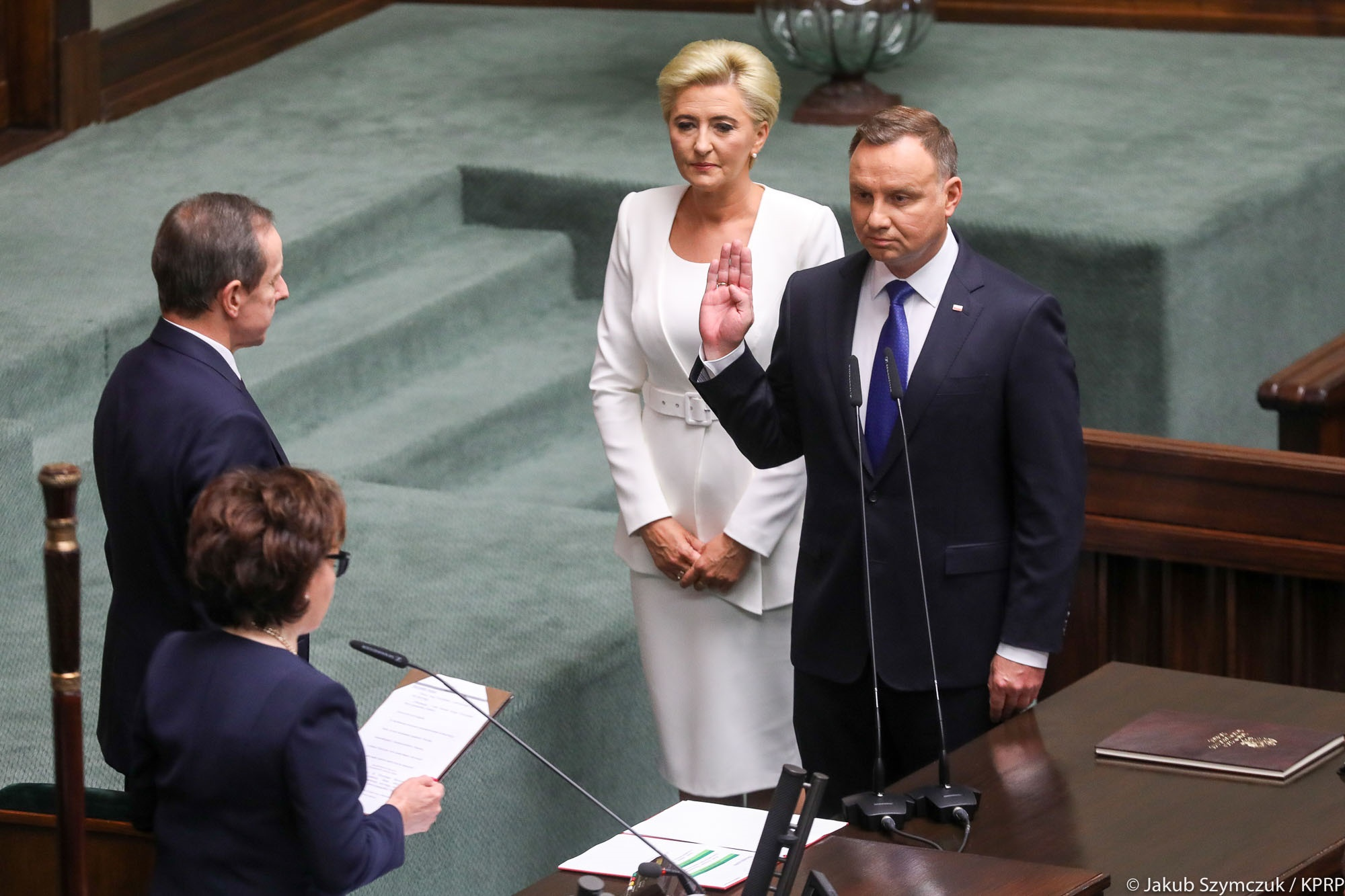 Prezydent Andrzej Duda złożył przysięgę przed Zgromadzeniem Narodowym - KPRP