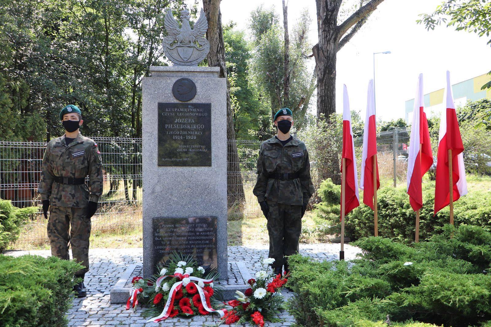 106. rocznica wymarszu I Kompanii Kadrowej - FB: Kalisz. Dopisz swoją historię.