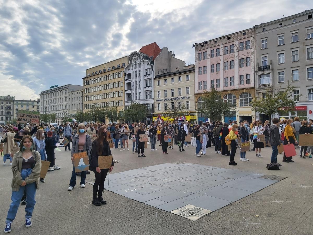 młodzieżowy strajk klimatyczny - Krzysztof Polasik - Radio Poznań