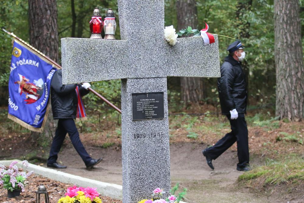 Stowarzyszenie Polskich Ofiar Obozów Koncentracyjnych przemarsz szlakiem pamięci  - Leon Bielewicz