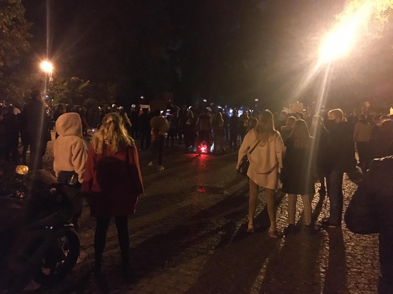 strajk protest ostrów tumski katedra aborcja - Jacek Butlewski - Radio Poznań