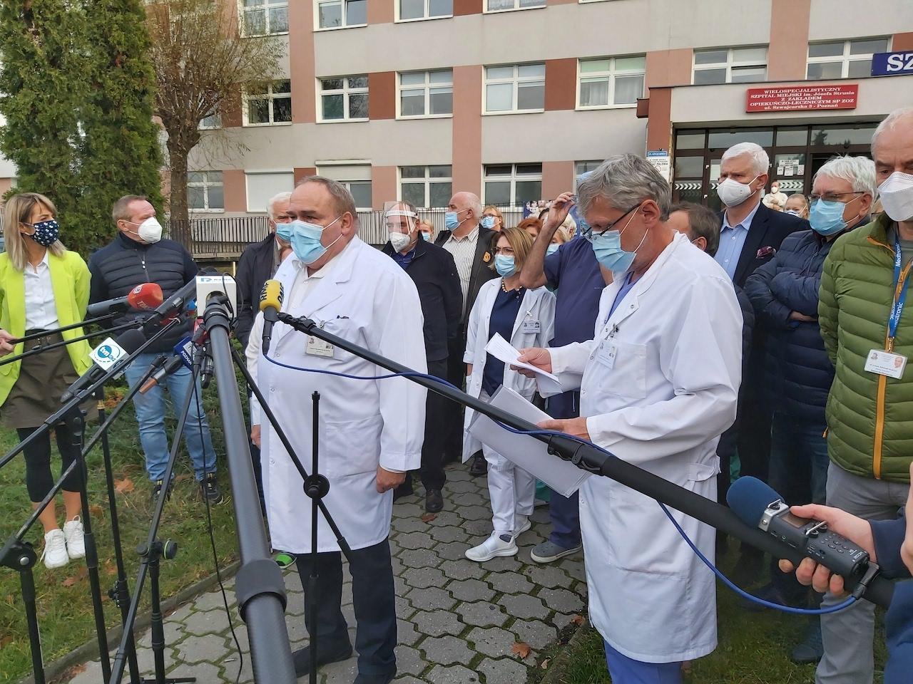 szpital strusia szwajcarska konferencja uwaga tvn - Krzysztof Polasik - Radio Poznań
