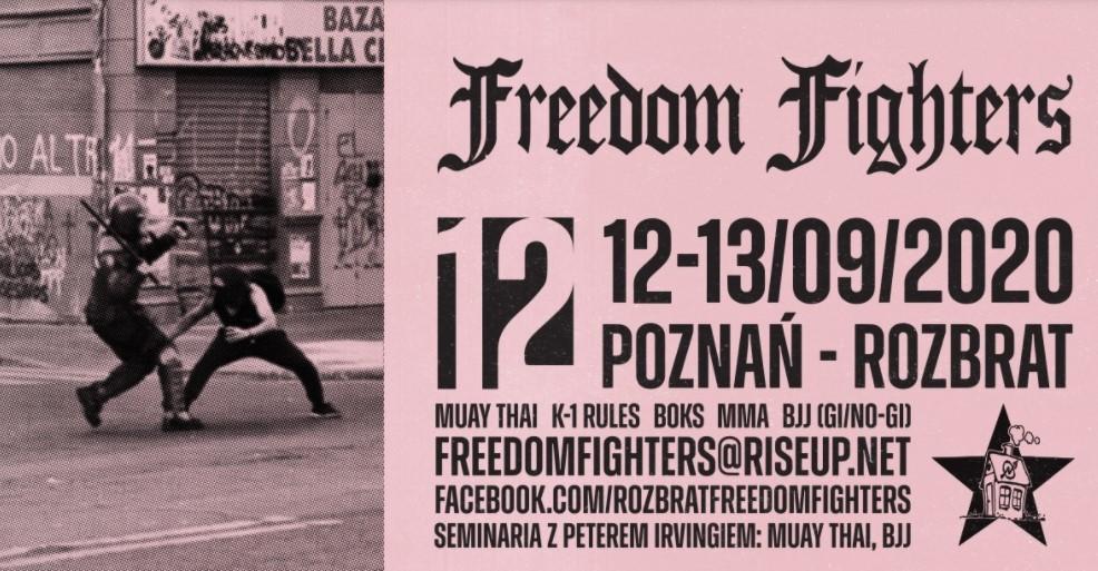 bojówki lewicowe sztuki walki rozbrat - Freedom Fighters Poznań
