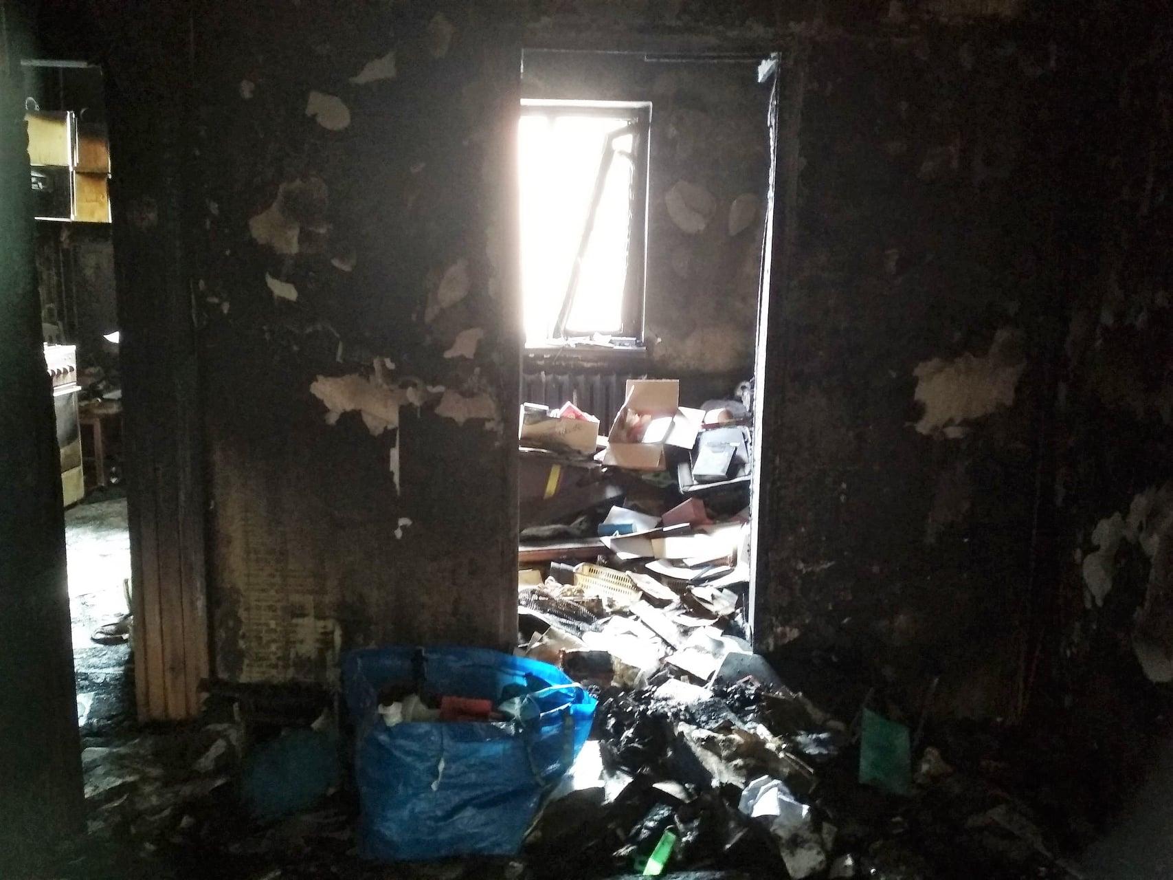pożar kopernika mieszkania  - FB: Pożar na Osiedlu Kopernika - Pomoc