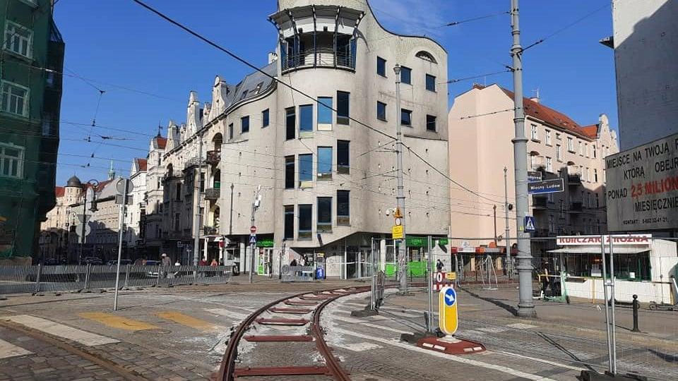 tymczsowe tory - ZTM Poznań