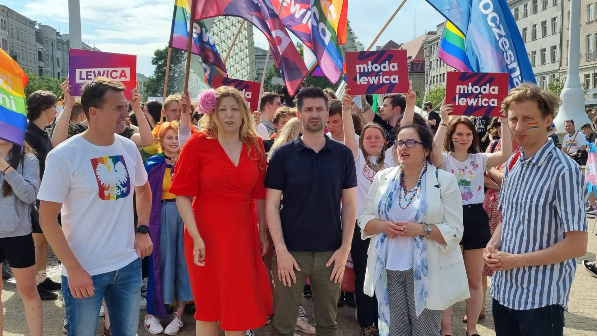 marsz równości - Magdalena Konieczna - Radio Poznań