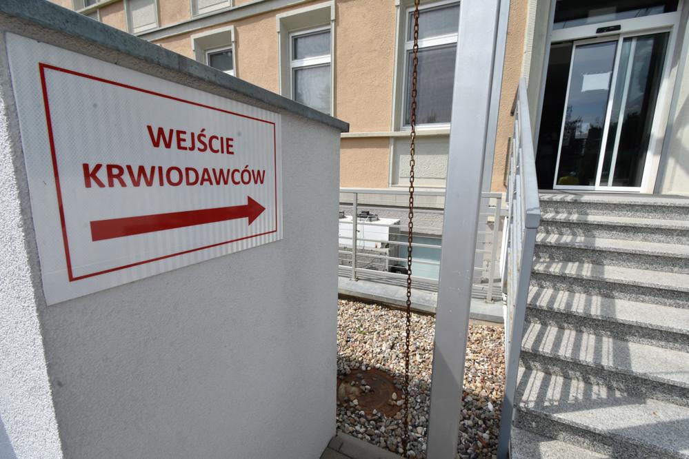 centrum krwiodawstwa krew krwiodawcy - Wojtek Wardejn - Radio Poznań