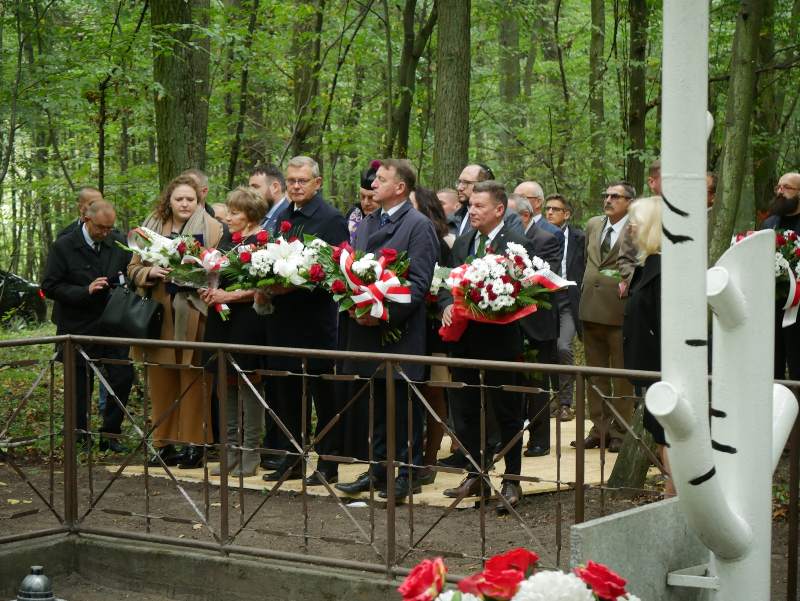 rudzica pod koninem Uczcili pamięć 1500 zamordowanych Żydów w Rudzicy - Sławomir Zasadzki