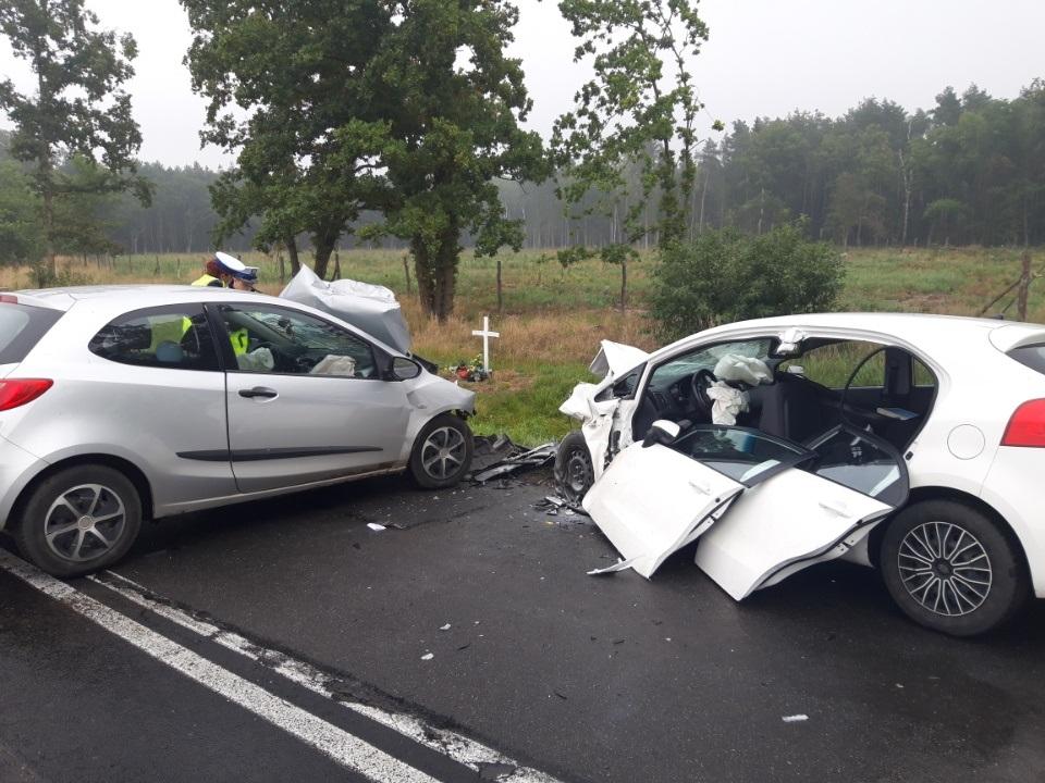 wypadek elki leszno góra - KMP Leszno