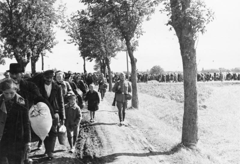 Wysiedlenia z Wielkopolski -   Commons:Bundesarchiv
