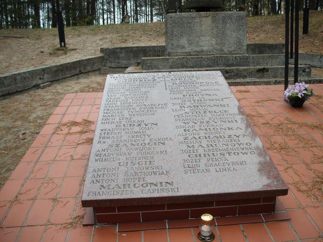 Chodzież, na Wzgórzach Morzewskich dnia 7 listopada 1939 roku rozstrzelano 41 mieszkańców Ziemi Chodzieskiej/fot. Jan Balcerzak
