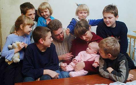 Rodzina wielodzietna - www.patronatnadrodzina.pl
