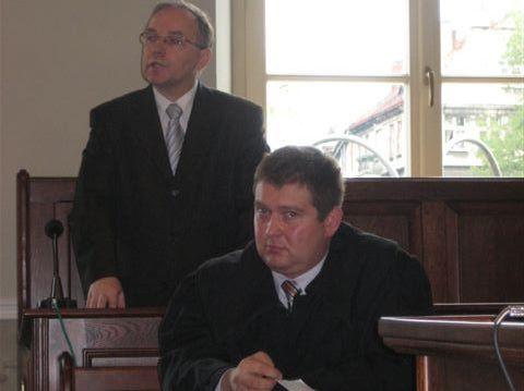 Witold Tomczak w sądzie - Danuta Synkiewicz