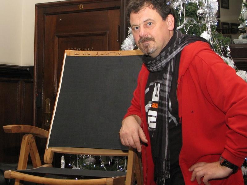Krzesło na licytację - Szymon Mazur